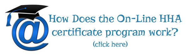 How does the On-Line HHA<br>